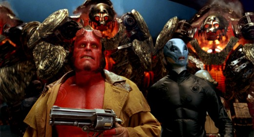 Hellboy 2 suffered a similar fate to Pacific Rim, despite being a damn excellent super-hero movie and one of the few sequels to be better than the original in essentially every way.
