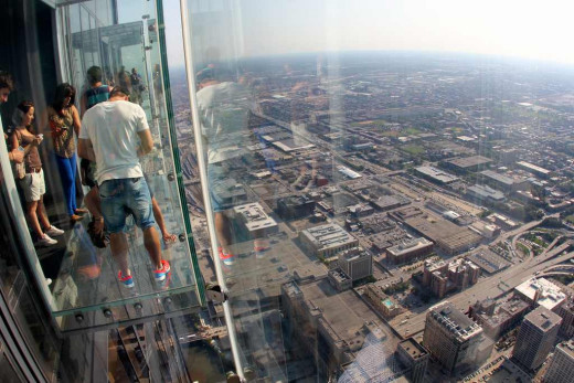 Visit The Ledge at the Skydeck in Willis Tower