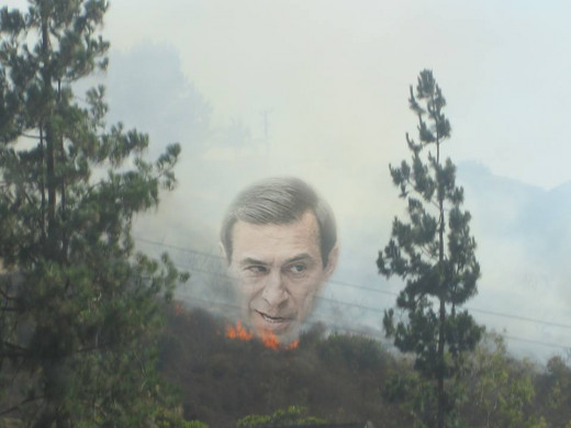 Smoke surrounds the mysterious, shrouded figure of Darrell Issa, but so far he has successfully managed to cover up the flames.