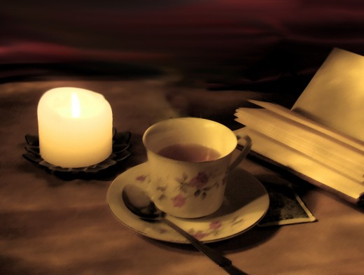 Establishing relaxing rituals like writing in a journal, having a cup of tea, lighting candles, doing light yoga stretches are all great ways to develop cues your body needs to know it's time for sleep.