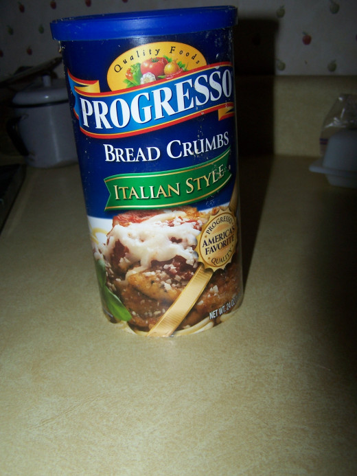 You definitely want to get the extra flavor provided by the Italian bread crumbs.