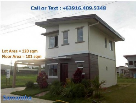 Example of a Model House for one of the Projects our Coop is handing in Lipa, Batangas