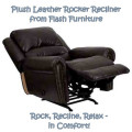 Choose a Leather Glider Rocker Recliner for Comfort