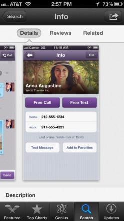 Sample Viber Contact
