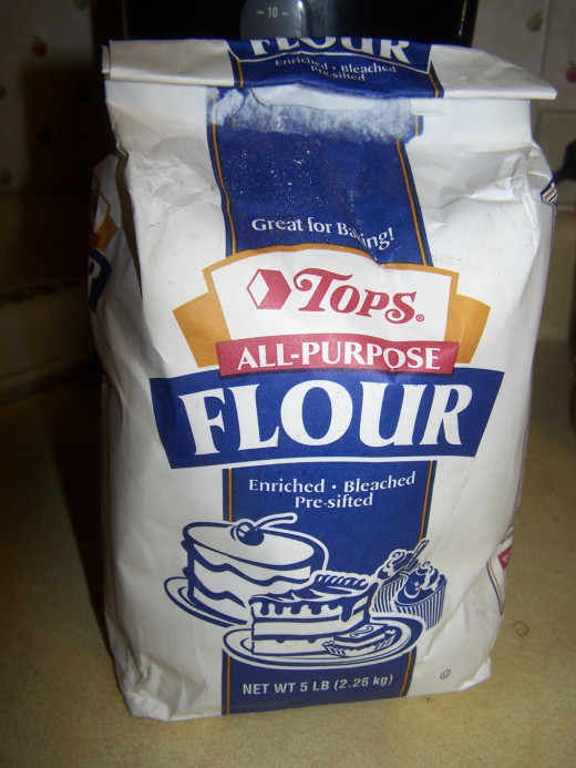 This recipe calls for an all-purpose flour.