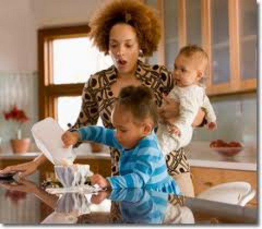 Moms in a hurry have no time to make meals