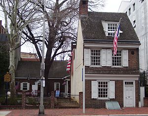 Today, in Philadelphia, only the Liberty Bell and Independence Hall draw more visitors than the home of the adored flagmaker. Annually, over a quarter of a million guests visit the Betsy Ross House.