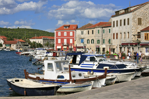 Stari Grad is one of Croatia's oldest towns, dating back to 385BC when it was a Greek colony called Faros.