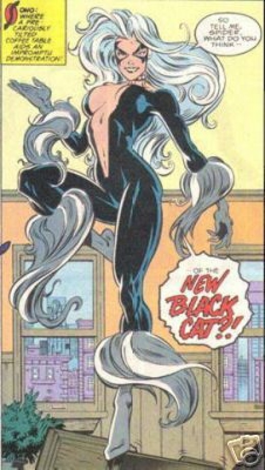 Black Cat Open Front Costume