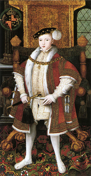 Edward VI ruled England between 1547 and 1553
