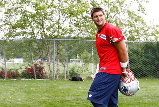 Can Tebow actually be useful to the Patriots in 2013?