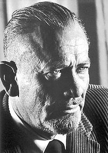 John Steinbeck, author of Pulitzer Prize -winning novel. Grapes of Wrath, East of Eden, Of Mice and Men.  He received the Nobel Prize for Literature in 1962.