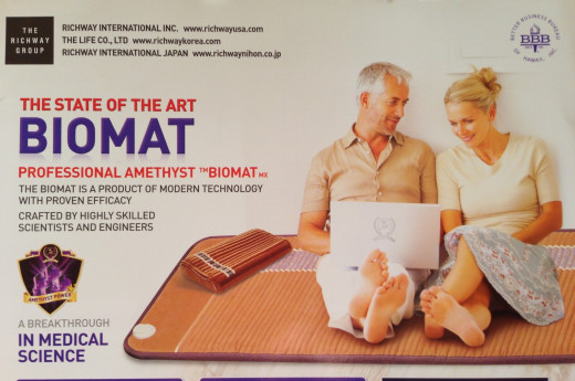 Sit on it. Sleep on it. Your personal oasis of health. Far Infra Red and Negative Ions from amethyst and tourmaline.