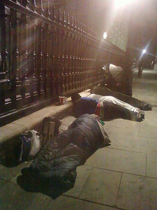 Night Homeless from Blodeuwedd  flickr.com