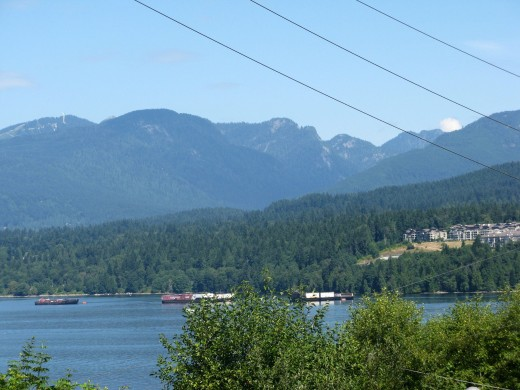 Burrard Inlet viewed from a different  direction