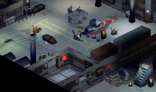Shadowrun Returns get the ripper's blood and DNA from the warehouse.