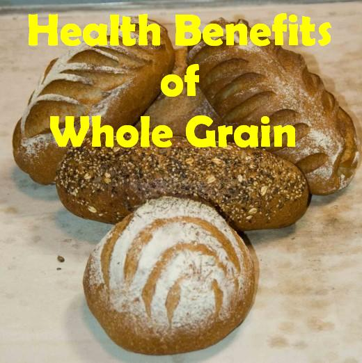 What are whole grain breads?