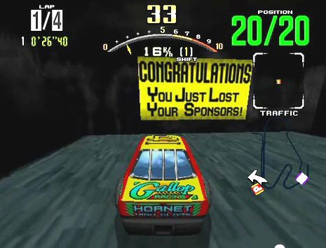 Kenseth likely felt his life was treading into video game territory in 2011-2