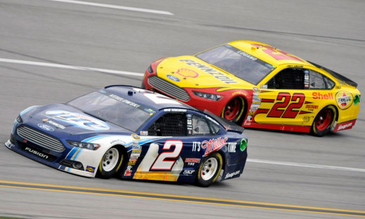 The addition of Brad Keselowski and Joey Logano- and the years of experience the Penske Racing show has- will only help Ford in the long run