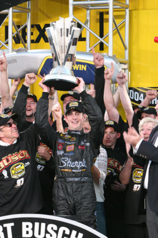 Yes, it's true. Kurt Busch is the last Ford driver to win a championship