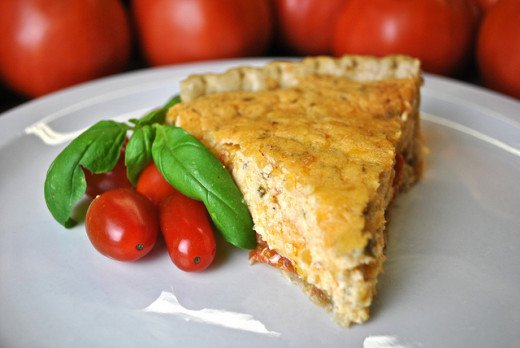 The Best Ever Fresh Tomato Pie