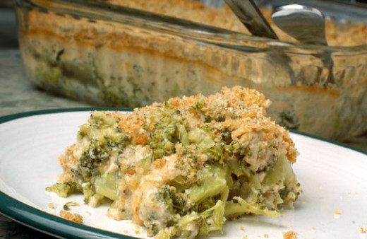The Best Ever Fresh Broccoli Casserole