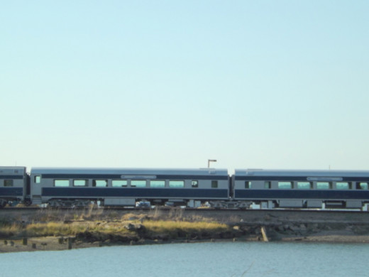 MRL Special Crossing over Lagoon