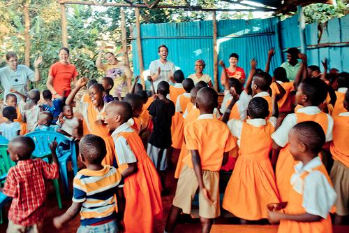 Worship in Kampala, Uganda!