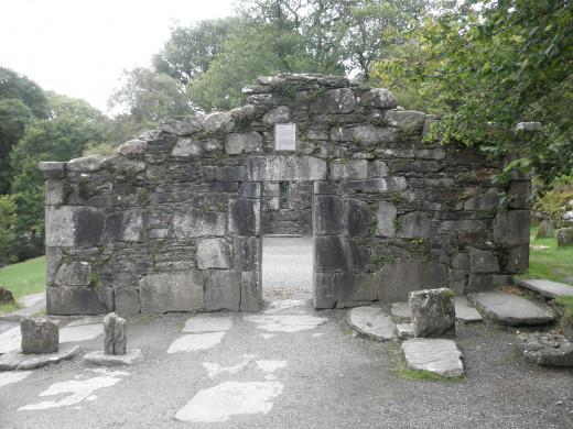 Refeert Church ruins