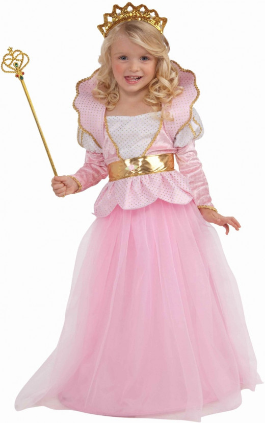 All girls love pink and Halloween is a great time to let her pink dreams come true