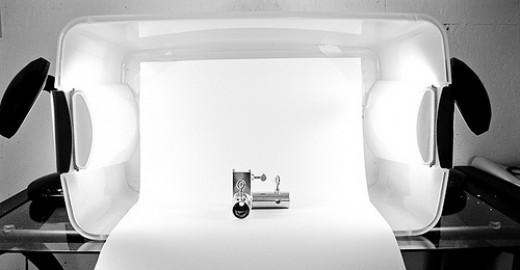 DIY lightbox setup by Steve A Johnson on Flickr