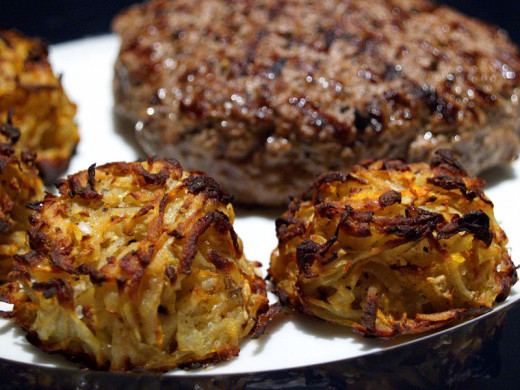 Minced meat patties and rösti don't count as hamburgers without the bun