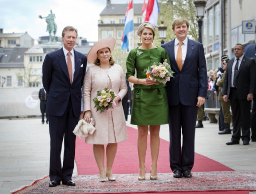 Dutch royal visit to Luxemburg