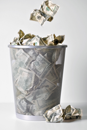 Stop throwing money away