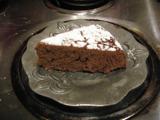 This homemade cake is easy and delicious!