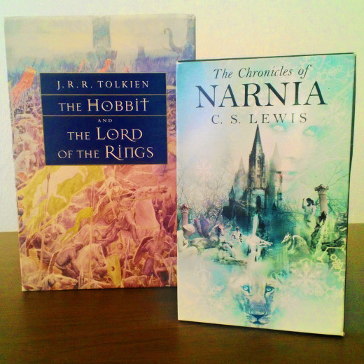 The Inklings are associated with many novels, including the Lord of the Rings trilogy and the Chronicles of Narnia.