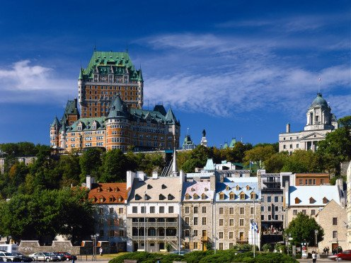 Quebec City's magnificent Chateau Frontenac