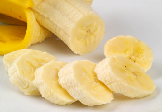 Chopped banana