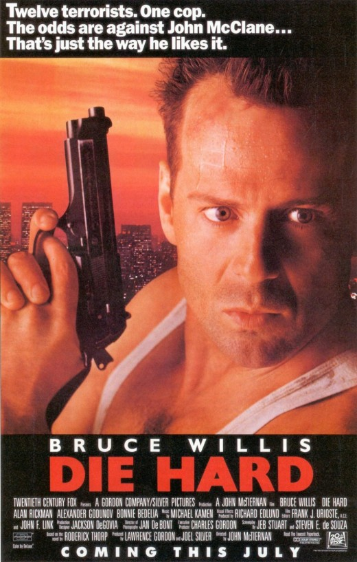 Official poster for the Die Hard fan club.
