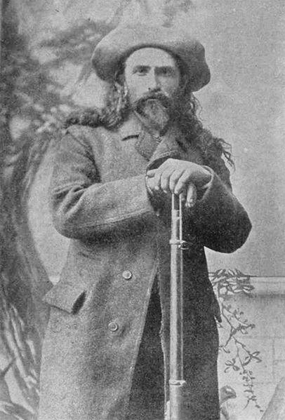 Pierre Le Royer,a coureur des bois in 1889.