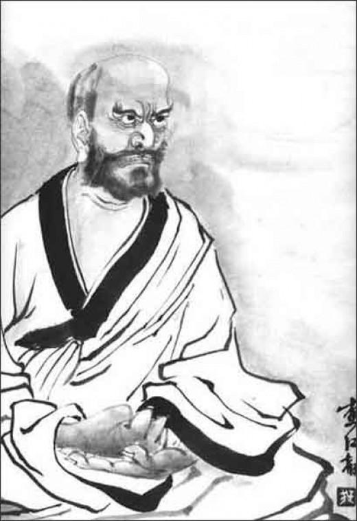 Famous Zen teacher Dogen.  A little terrifying, no?