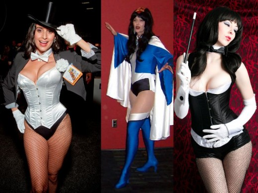 Alternative Zatanna Cosplay Costumes