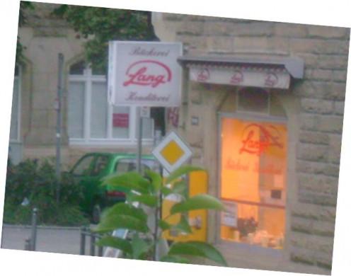One of the many bakeries in Stuttgart.
