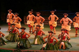This is how hula dances are performed.