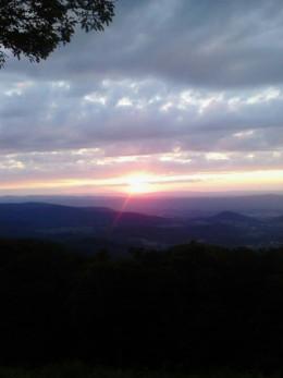 Sunset.  7/29/2013