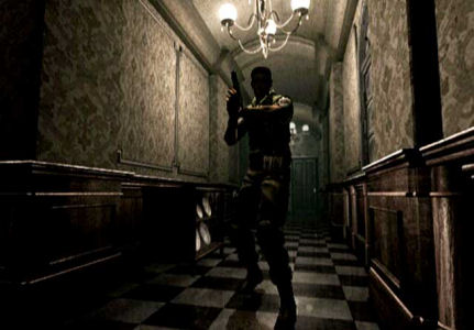 Superb lighting in Resident Evil on the GameCube