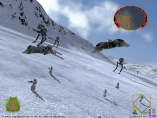 Hoth featured in Rogue Squadron 2 on the GameCube