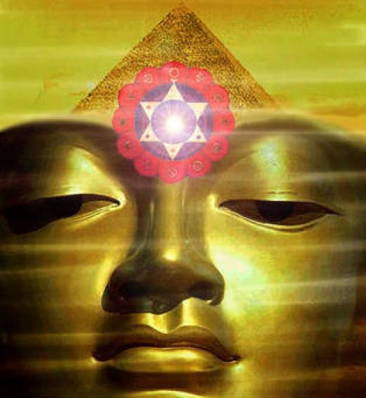 Buddha. Useful Third Eye To Meditate