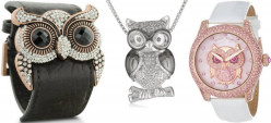 Buy owl jewelry online: Best selling necklaces, pendants, cuffs, rings and watch