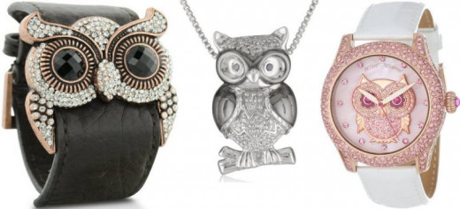 Which owl jewelry will you buy?